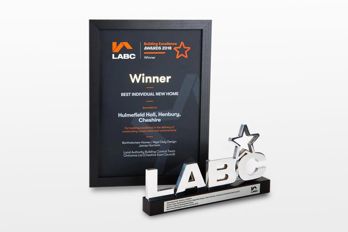 LABC Winner Award